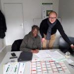 Gaoussou Traoré signe son contrat stagiaire pro à Amiens SC